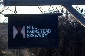 Hill Farmstead Sign