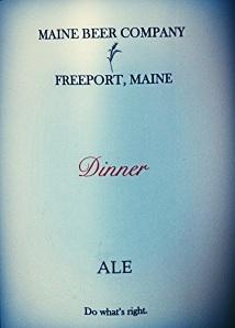 Dinner Label