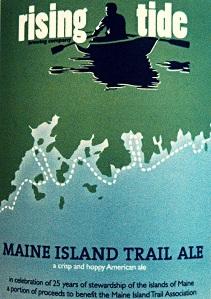 Rising Tide Maine Island Trail Ale