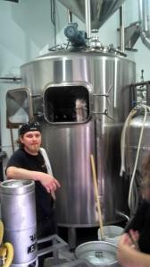 Gregg Spickler in Brewhouse