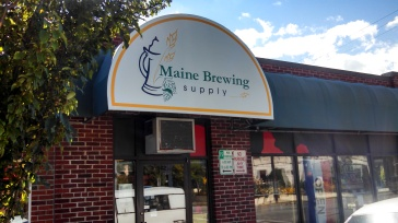 Maine Brewing Supply Front