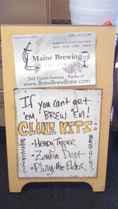 Maine Brewing Supply Street Sign