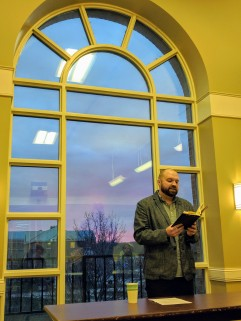 Dave Reading at St. Michael's College